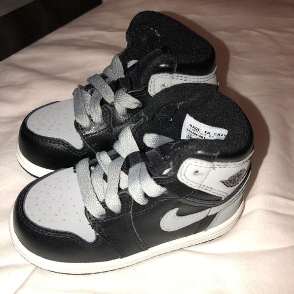 0ba587eda9bc Toddler Air Jordan 1 Retro Shadow Size 6C